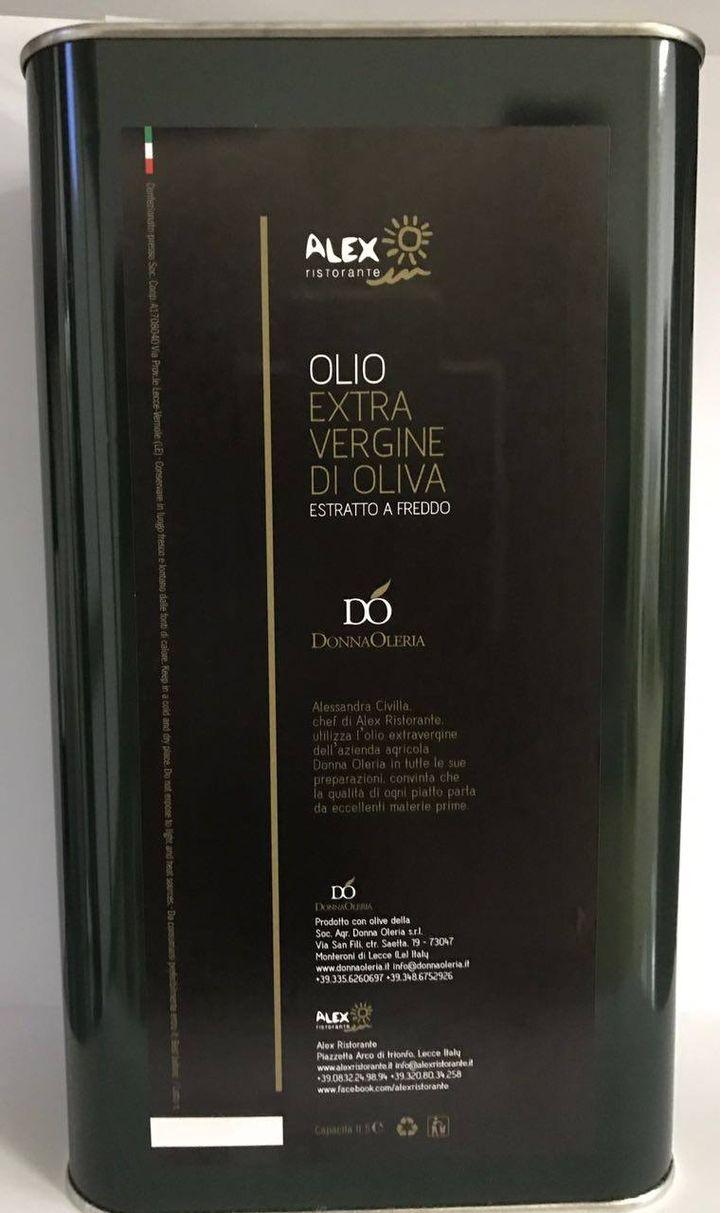"Ogliarola Salentina Olio extravergine di oliva monovarietale ""Tra due mari"""