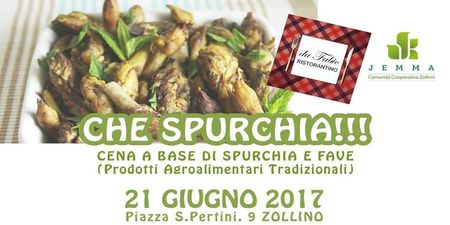 Che Spurchia!!! Cena a base di spurchia e fave