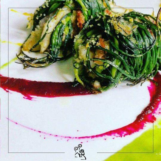 Vivacità e bontà #locandadeicamini #botrugno #artgallery #salento #fish #restaurant